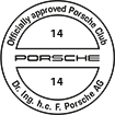 Officially approved Porsche Club 14